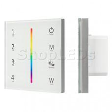 Панель Sens SMART-P45-RGBW White (230V, 4 зоны, 2.4G)