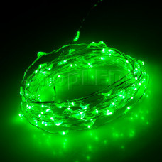 Светодиодная нить WR-5000-12V-Green (1608, 100LED)
