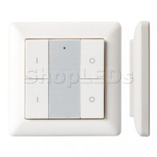 Панель Knob SR-KN9550K4-UP White (KNX, DIM)