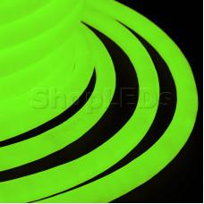 Гибкий Неон LED 360 - зеленый, бухта 50м