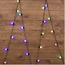 "Гирлянда ""LED - шарики"", RGB, Ø30 мм, 5 м, Neon-Night"