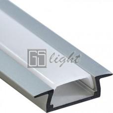 Встраиваемый алюминиевый профиль AN-P31549 (с экраном)